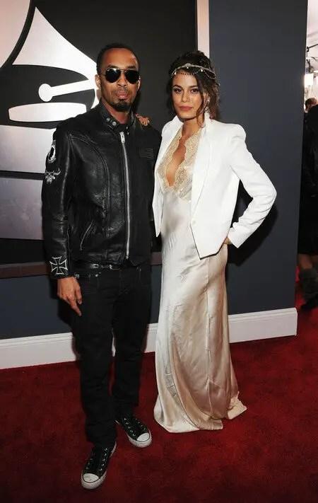 Nathalie Kelley with her former boyfriend Dallas Austin.