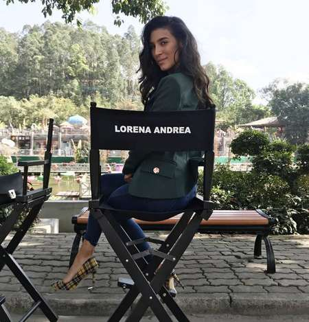 Lorena Andrea is a 26-year-old actress from London with Spanish and Columbian parents.