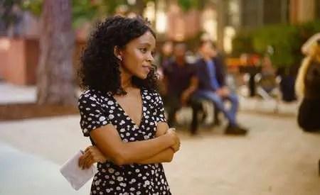 Rachel Naomi Hilson plays Mia in the Hulu series Love, Victor.