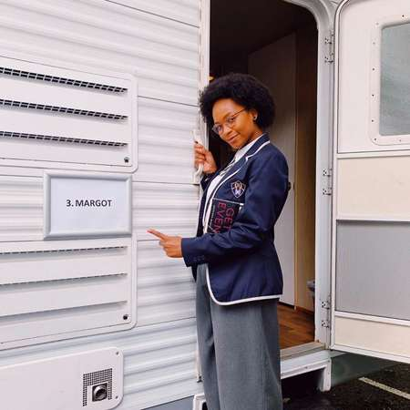 Bethany Antonia plays Margot Rivers in the Netflix series Get Even.