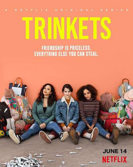 Quintessa Swindell plays Tabitha in the Netflix series Trinkets.