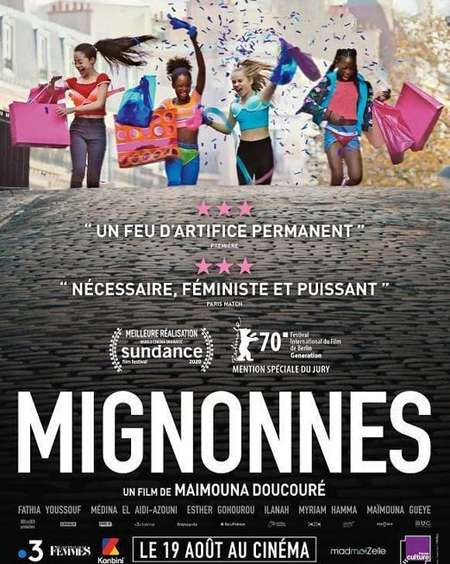 Fathia Youssouf plays Amy in the Netflix movie Cuties/Mignonnes.