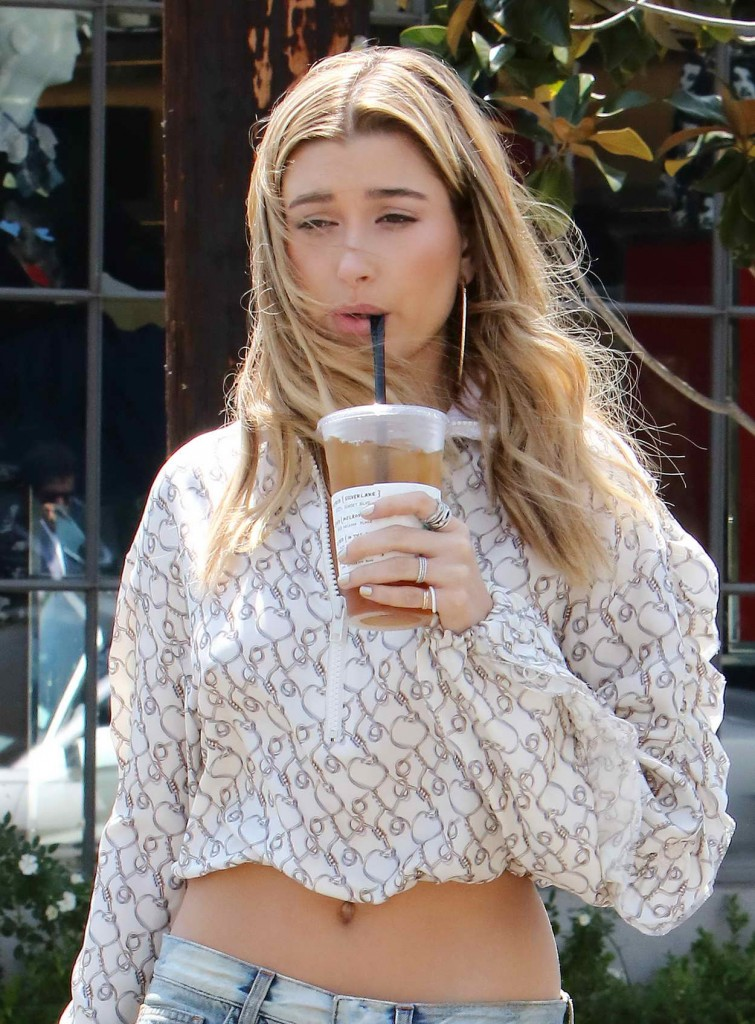 Hailey Baldwin Out In Los Angeles 04132016
