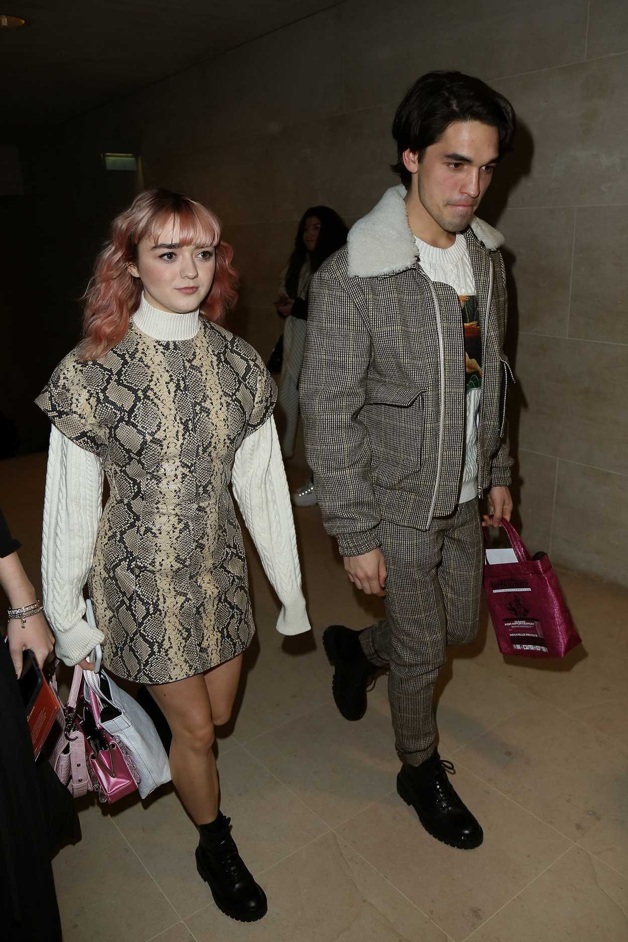 Maisie Williams Heads To The Kenzo Show During The Paris