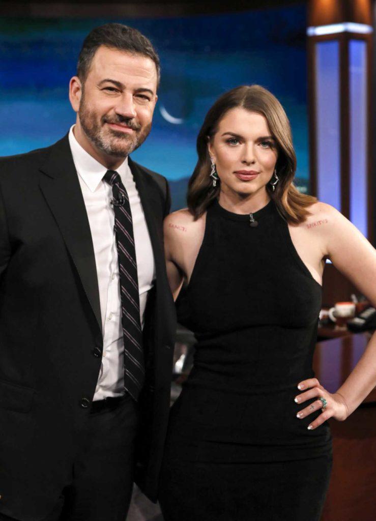 Julia Fox Attends Jimmy Kimmel Live In Hollywood 12 11