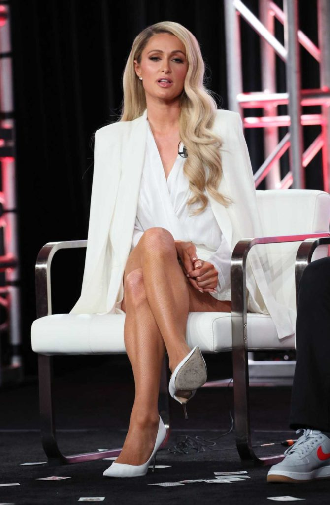 Paris Hilton Attends 2020 Youtube Winter Tca Presentation
