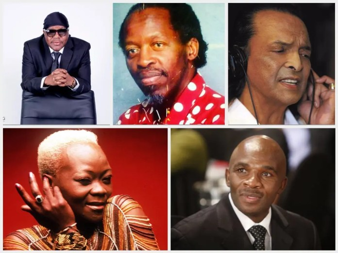 5 Pictures of Mzansi Stars You Didn't Know Died Poor