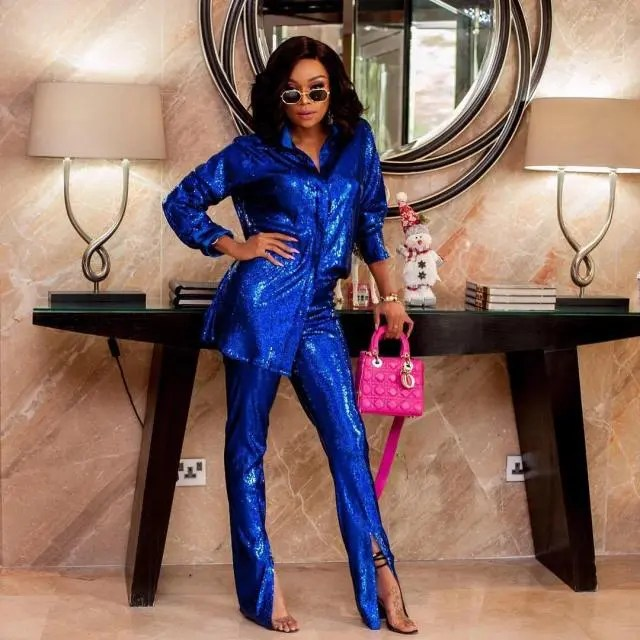 This is how to Rock a Suit Like Bonang Matheba – Pictures