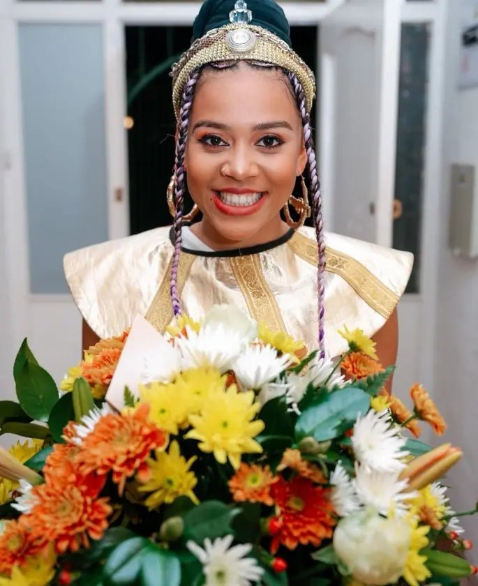 Sho Madjozi back on stage after younger sister's death