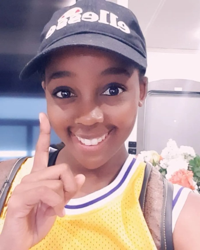 Thuso Mbedu's first day on Hollywood series
