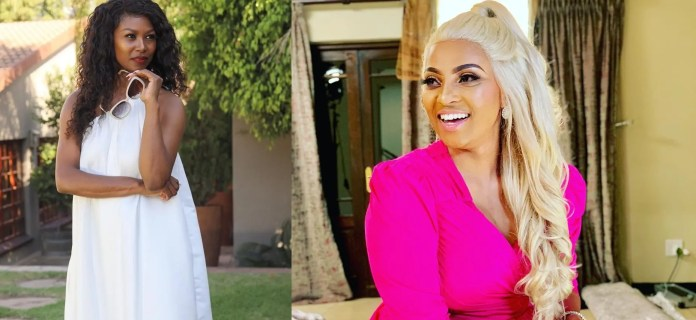Drama as Real Housewives of Joburg's Brinnette Seopela & Lethabo Mathatho exchange blows in public