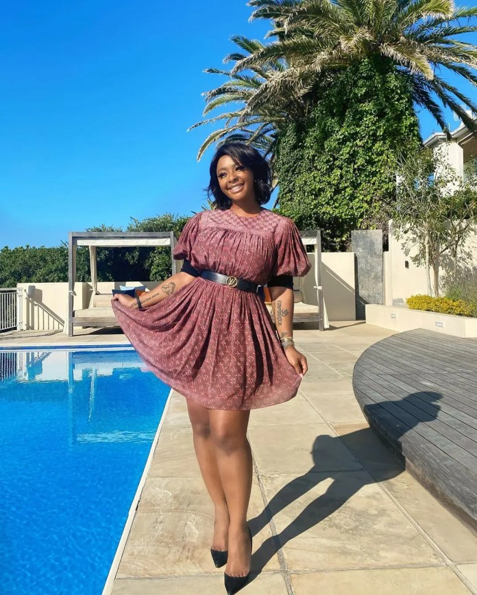 Boity Thulo's Birthday Present from Glamour Magazine is just Amazing