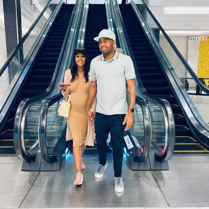 Itumeleng Khune's wife Sphelele breathes fire & blasts all Haters trying to tear them apart