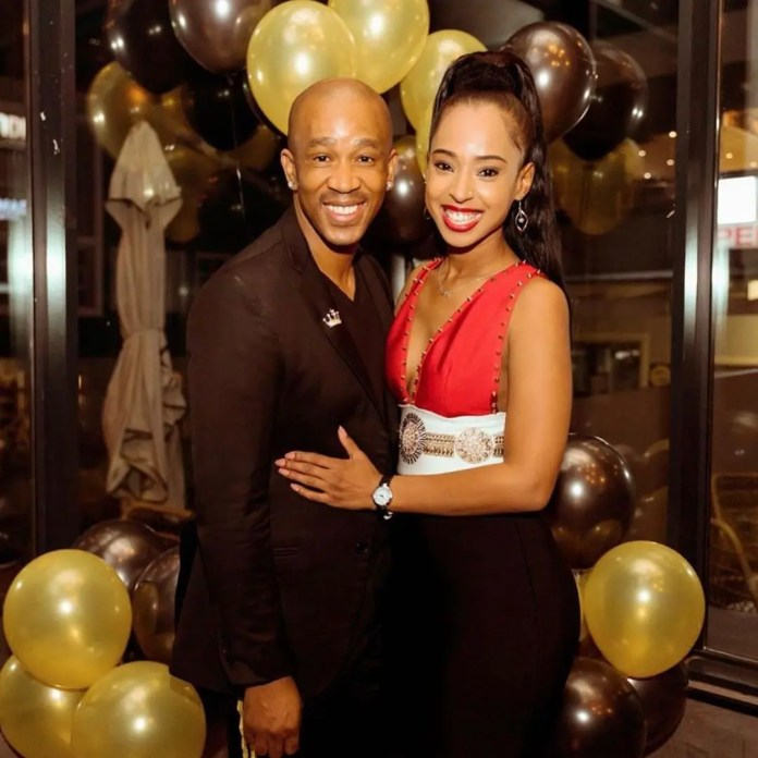 5 times Theo Kgosinkwe & his fiancée, Vourne Williams showed off their Love for each other