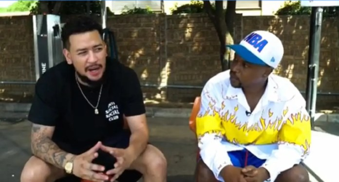 Video: Scoop Makhathini calls out AKA, claims he is lying about Nelli Tembe's death