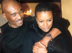 The Late Bob Mabena a nd E-x fiancé Zandi Nhlapho