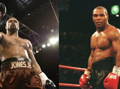 Mike Tyson and Roy Jones