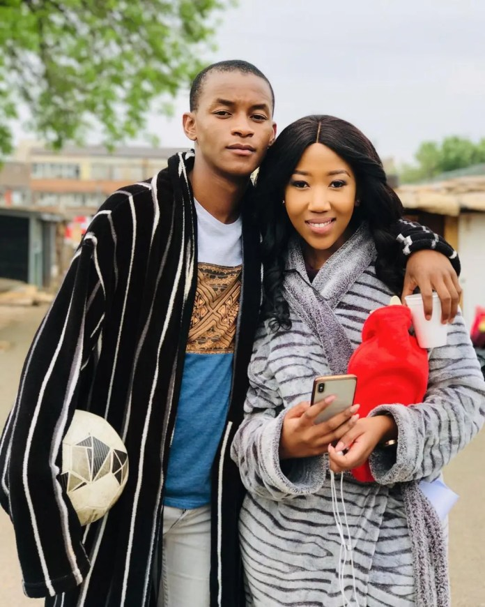 Actress Sihle Ndaba Shows Love To Sicelo Buthelezi