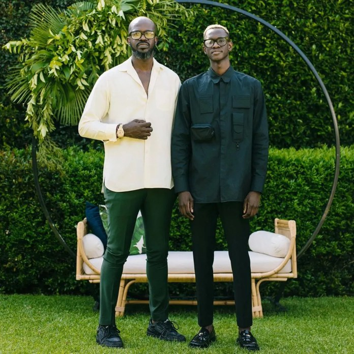 Black Coffee's son has Mzansi talking after posting his father's alleged girlfriend – Photo