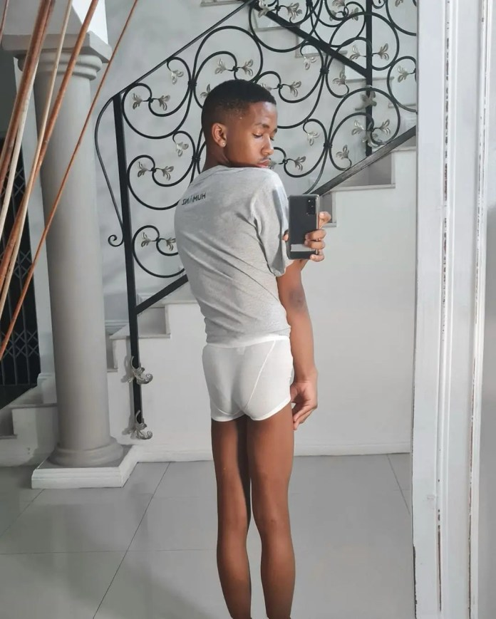 Cyber Bullies Force Lasizwe To Deactivate Twitter Account After Viral Picture Of His Behind