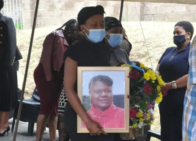 lindiwe LAID TO REST1