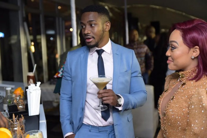 Thando Thabethe's ex-bae Lunga Shabalala responds to his name being dragged into her new relationship