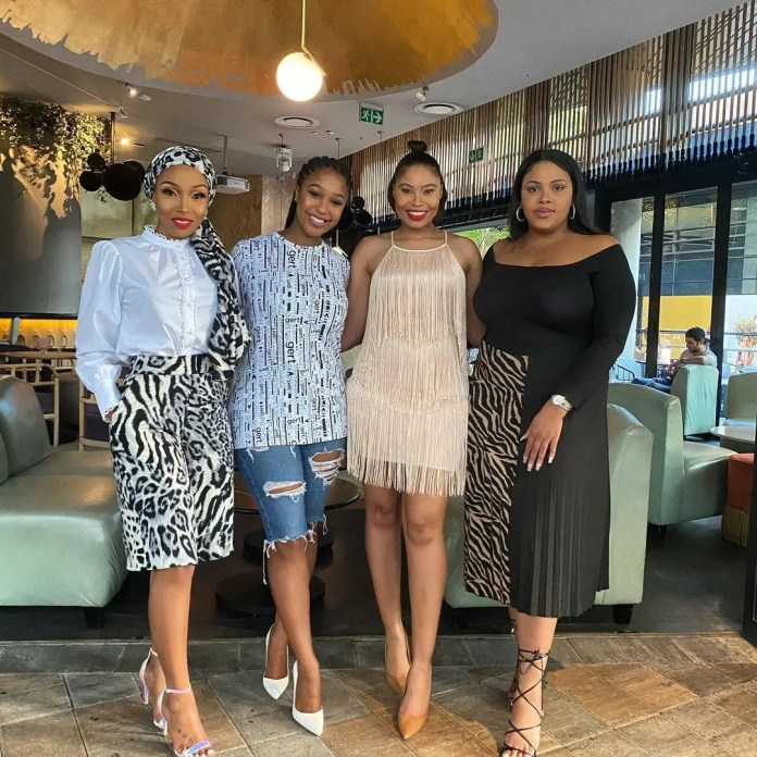 Levels! Minnie Dlamini-Jone Just Flew Beyonce In For A Birthday Surprise! – Photo