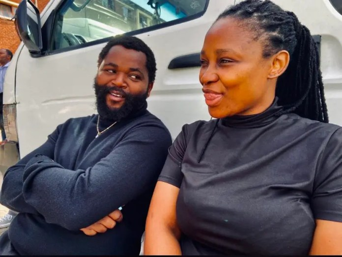 Sjava sparks dating rumor with eHostela actress Andy Mnguni – Photos