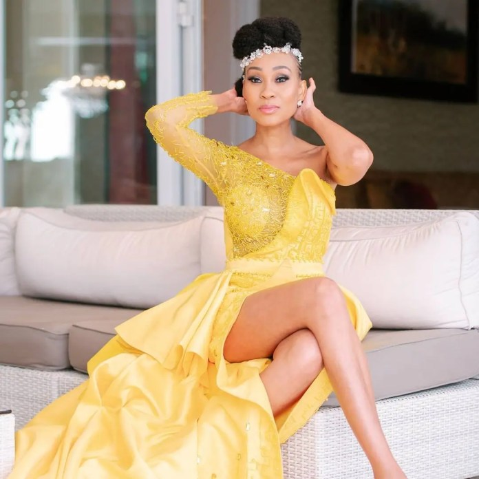 Actress Kgomotso Christopher leaves Mzansi men drooling – Pictures