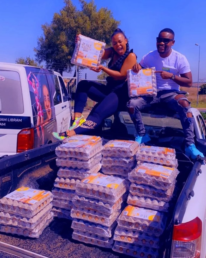 Zodwa Wabantu takes her egg business to a new level