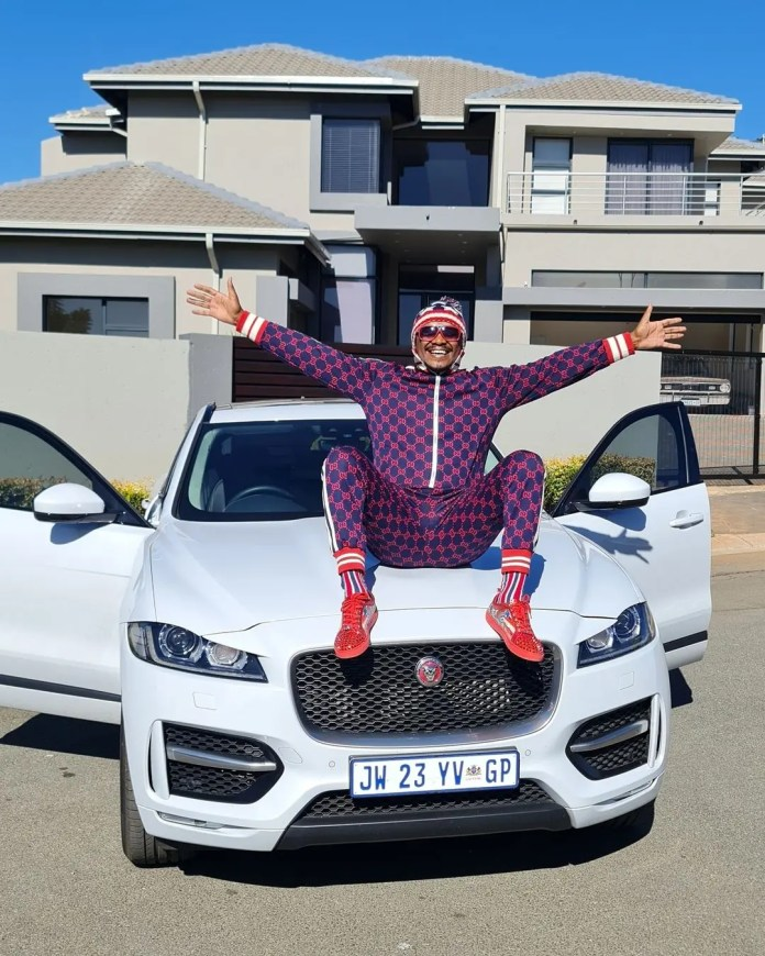 Mzansi A-listers join Thato Mbha's golf day with a purpose