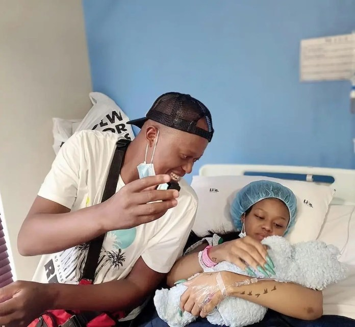 Photo: Babes Wodumo shows off her son's face for the first time