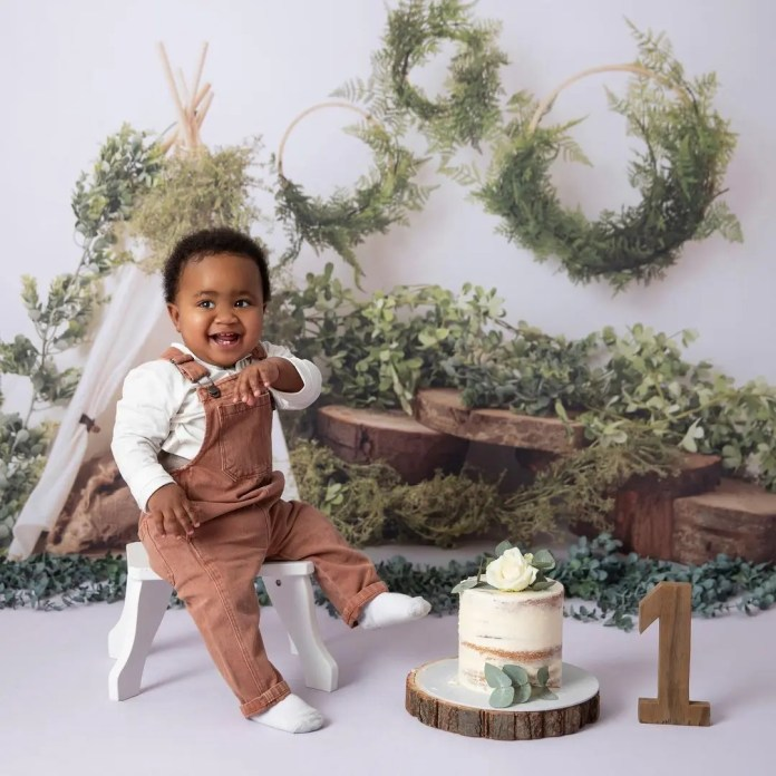 PICS: Brenden Praise and wife celebrate son's 1st birthday