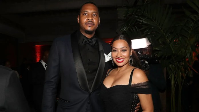 La La Anthony files for divorce from NBA star Carmelo Anthony