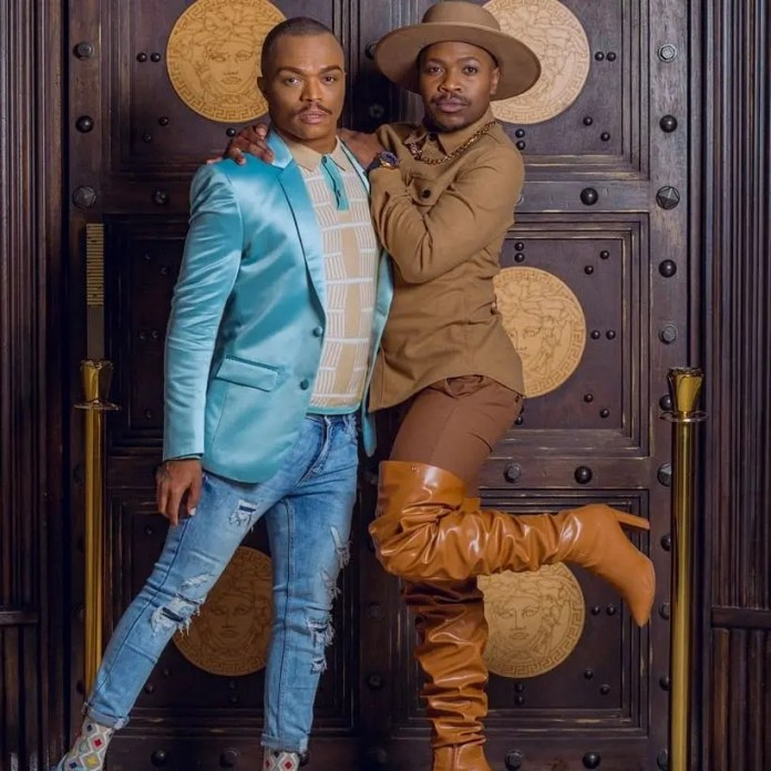 Photos of Somizi and Lebo Molax spark dating rumours