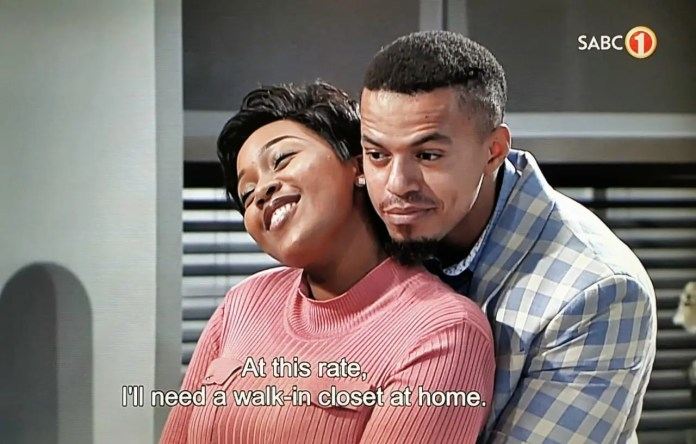 #SkeemSaam: Mzansi Is Convinced Pretty Is Pregnant With Lehasa's Child