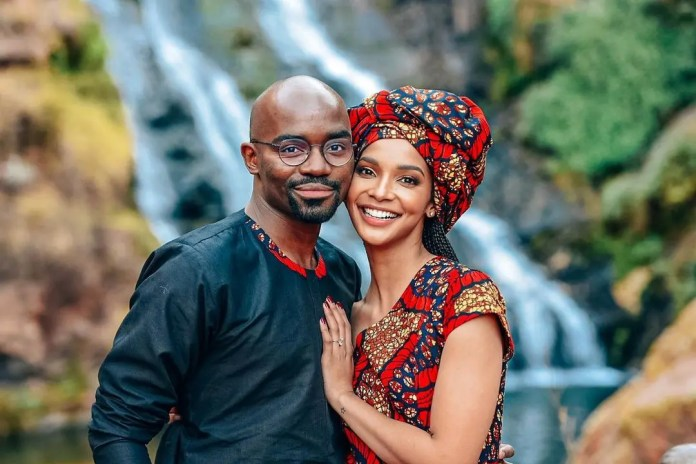 Former Miss SA Liesl Laurie Publicly Calls Out Hubby Musa Mthombeni