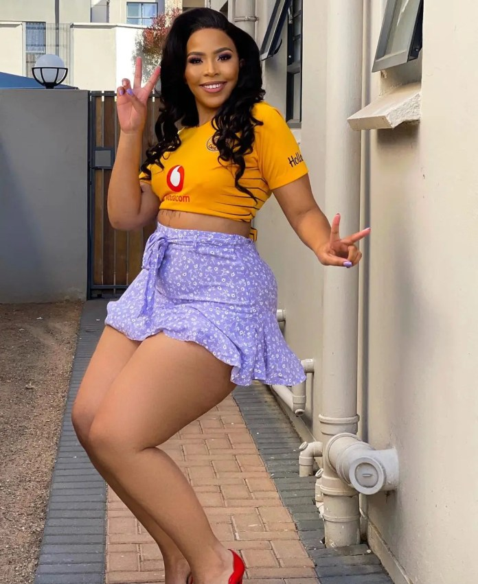 Photos: Local celebs show support for Kaizer Chiefs ahead of CAF Champions League final