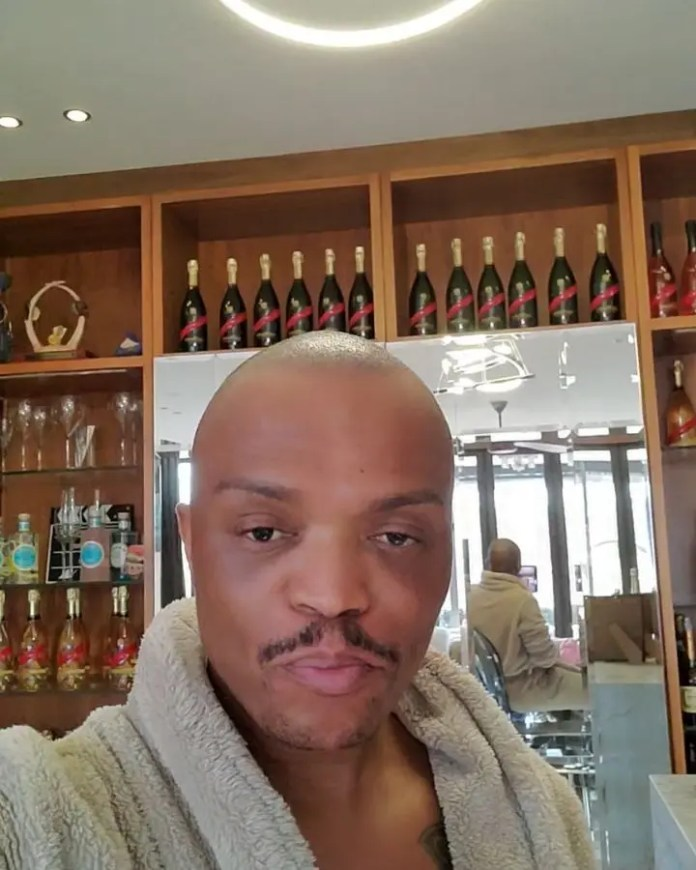 Video: Somizi shows off his stocked alcohol