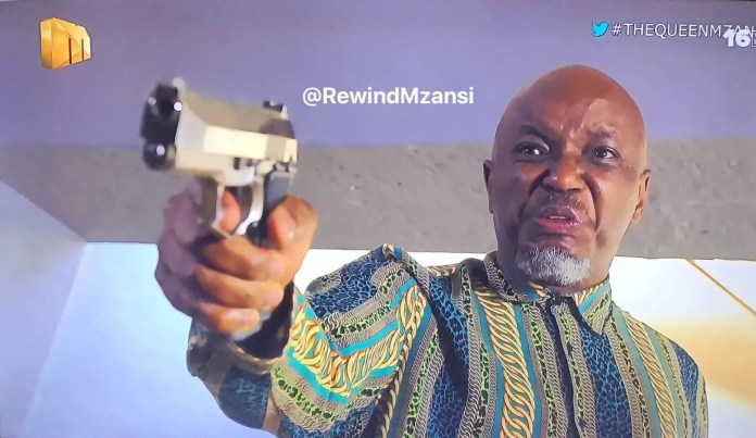 #TheQueenMzansi: Brutus Teaches Hector A Lesson