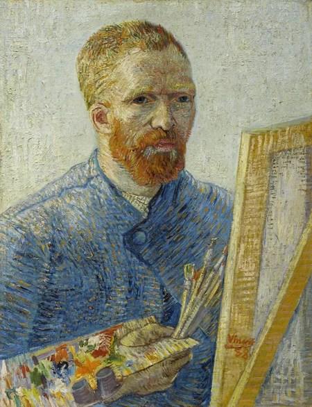 画家としての自画像