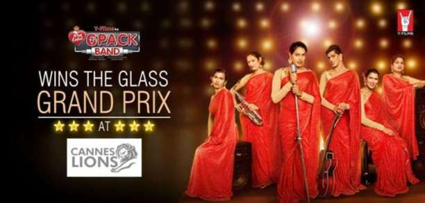Six Pack Band wins Cannes Glass Lions Award