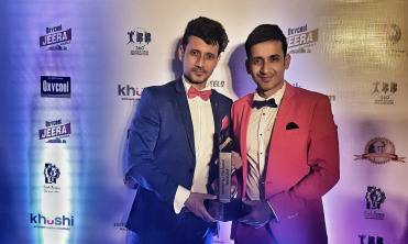 Harmeet Singh and Manmeet Singh with the Dada Saheb Phalke Awards