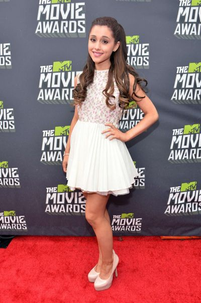 Ariana Grande Ariana Grande-Butera Eye Color Body Measurements Hair Color Chest Size Weight Height Shoe Size