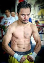 Manny Pacquiao Weight Height Eye and Hair Color