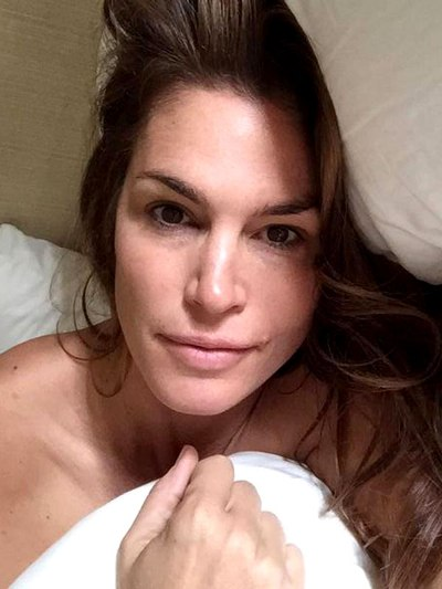Cindy Crawford Without Makeup