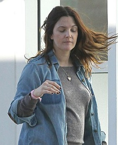 Drew Barrymore Without Makeup