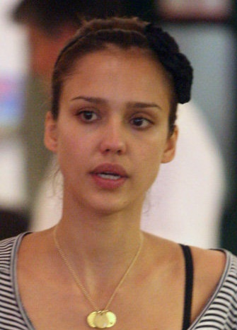 Jessica Alba Without Makeup