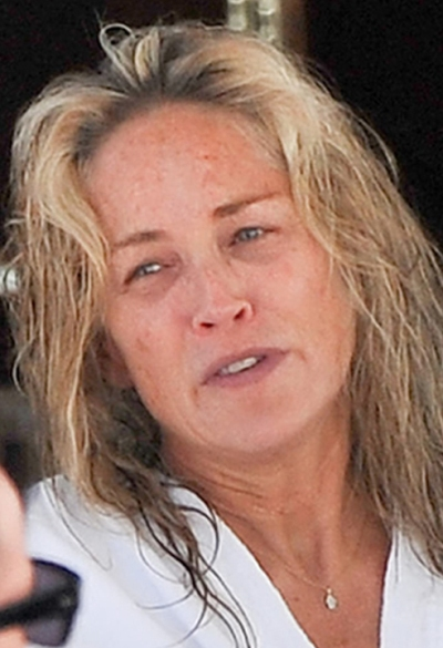 Sharon Stone No Makeup Pictures