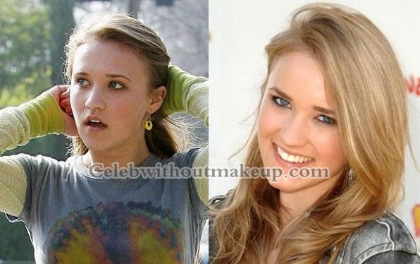 Emily Osment No Makeup